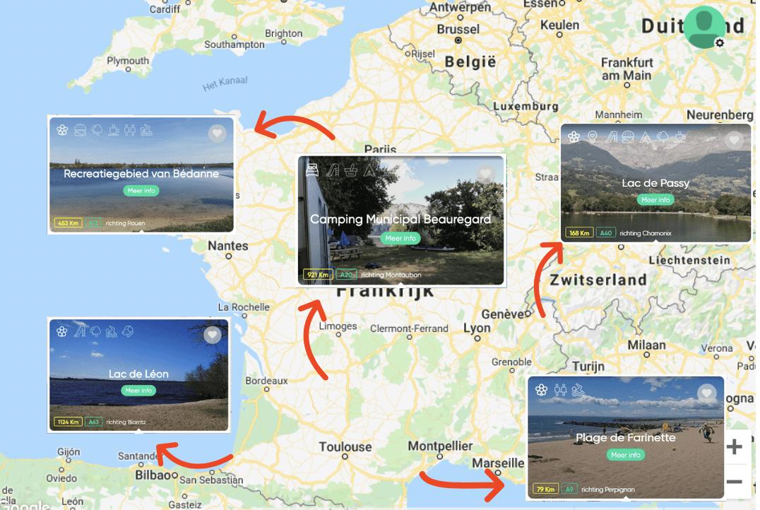 Natuurwater Frankrijk
