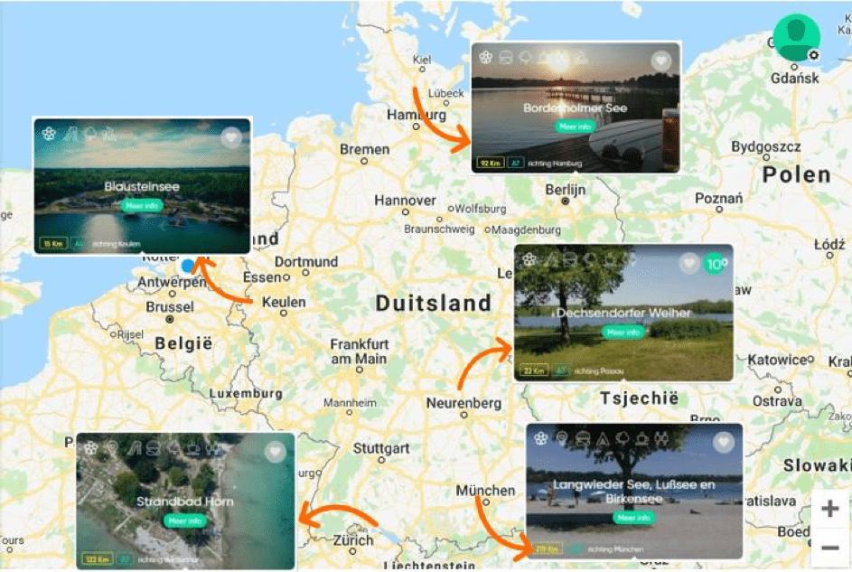 Natuurwater Duitsland