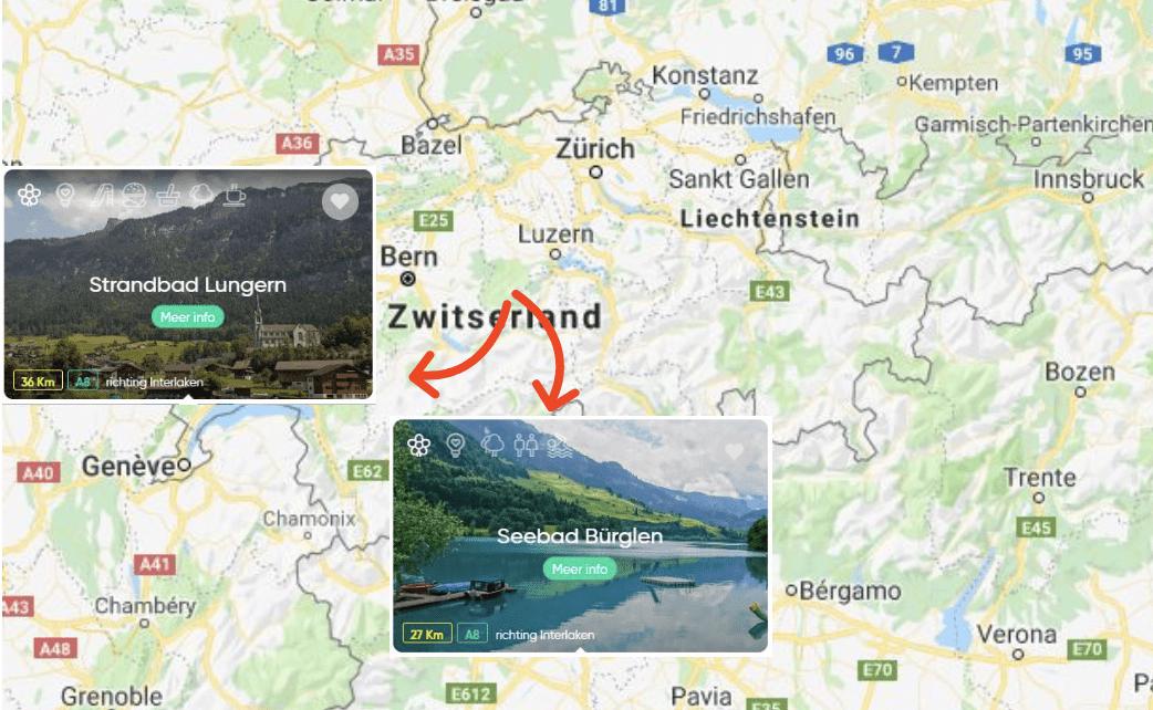 Natuurwater Zwitserland