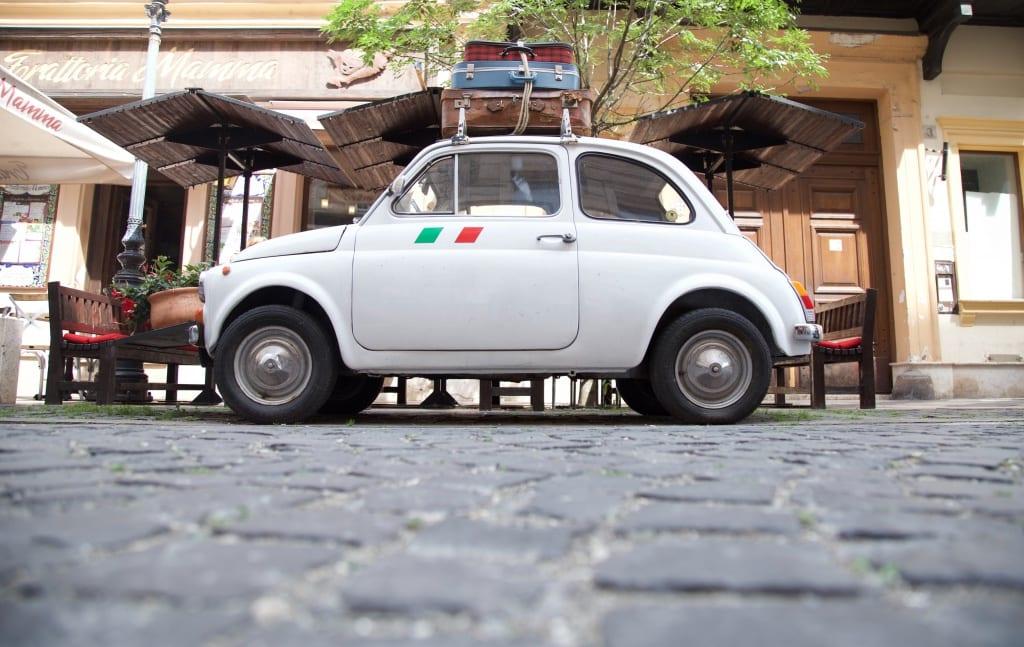 richting italie