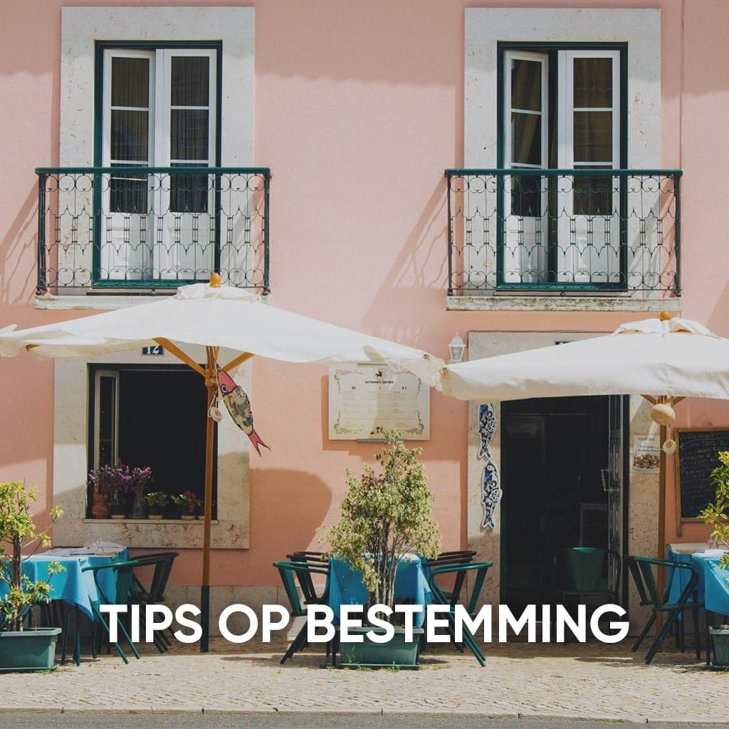 tips op bestemming