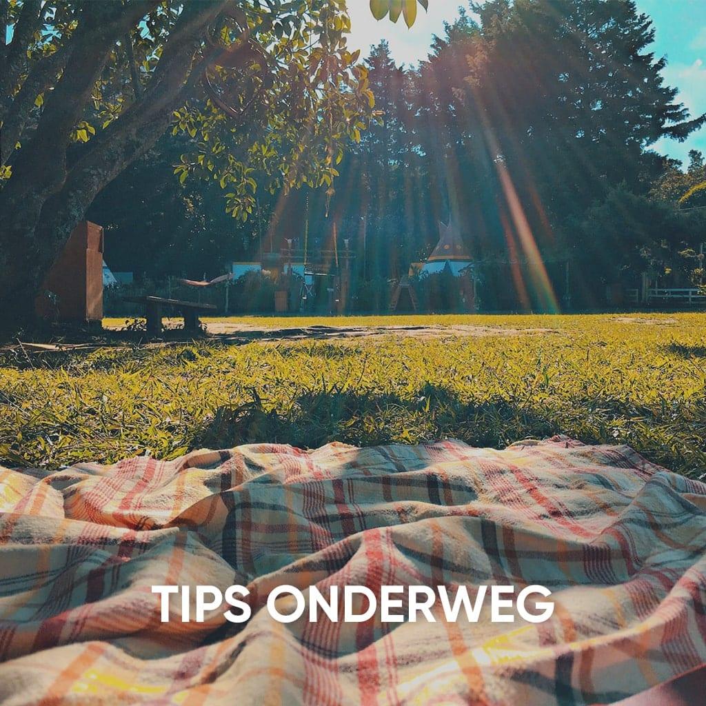 tips voor onderweg
