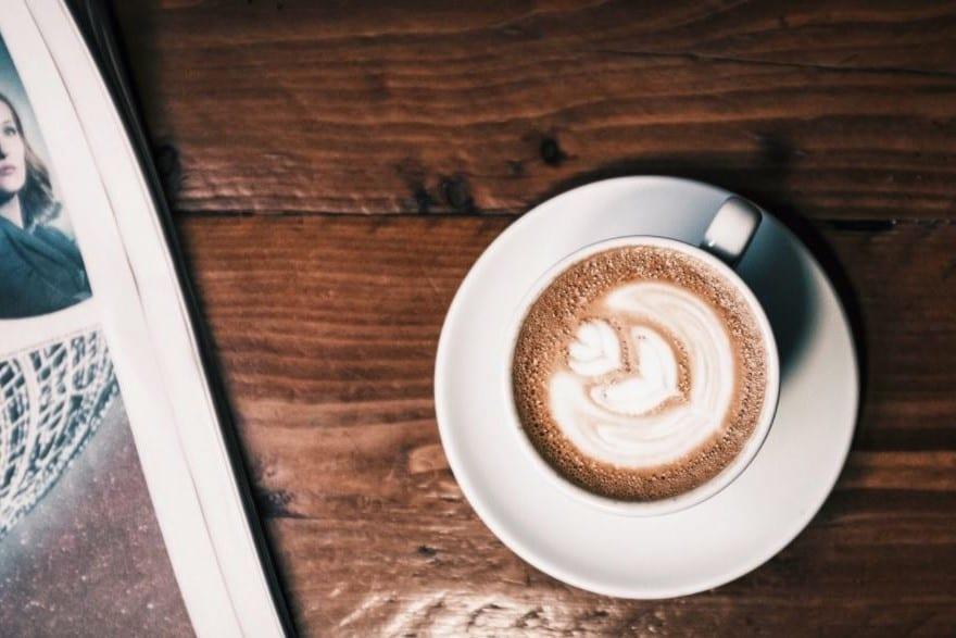 koffie drinken thuiswerk vakantie