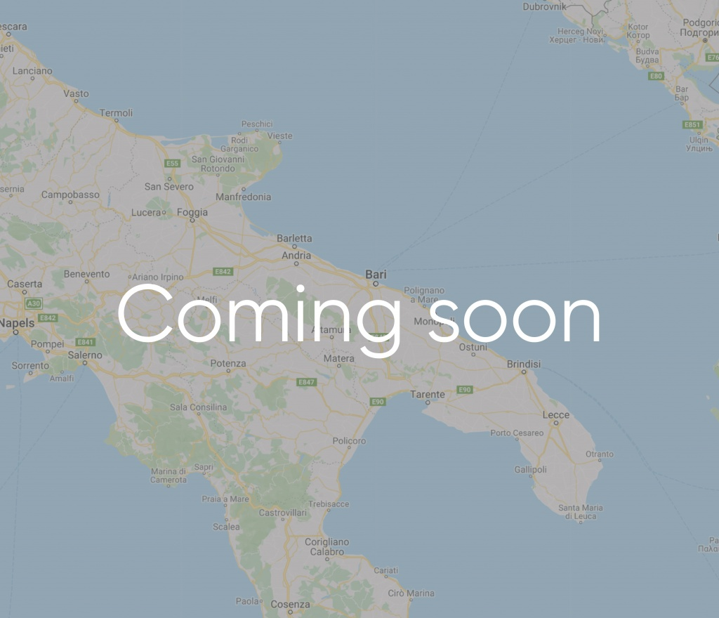 Puglia coming soon